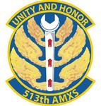 513 Aircraft Maintenance Sq emblem.png