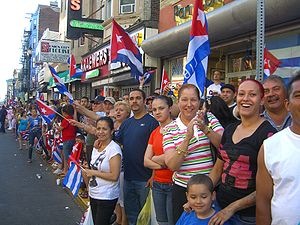 North Hudson, New Jersey - Image: 6.6.10Cuban Parade UC By Luigi Novi 5