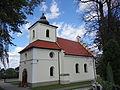 615913 pow. krakowski gm Krzeszowice Sanka Koscol sw. Jakuba Apostola 05.JPG