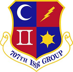 707th Intelligence, Surveillance and Reconnaissance Group - Image: 707th Intelligence, Surveillance and Reconnaissance Group (emblem)