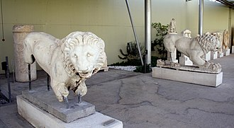 History of lions in Europe - Lion 4th century BC, Greece