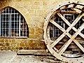 78 Museu Etnogràfic de Nicòsia, roda de molí d'aigua.jpg