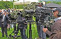 8147 camera line up at the Antiques Road Show (15596852659).jpg