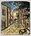 81 - Rue de village - Georges Gaudion - Musée du Pays rabastinois - Inv.D.2010.6.2.jpg