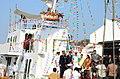 8th Inshore Patrol Vessel (IPV) 'Rajdhwaj' built by the Garden Reach Shipbuilders & Engineers (GRSE) Limited for Indian Coast Guard launched from Raja Bagan Dock Yard, in Kolkata on January 29, 2013.jpg