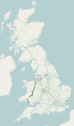 A483 road map