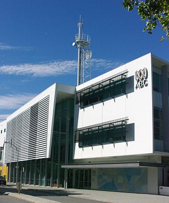 ABC Television - ABW digital studios in East Perth opened in 2005