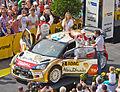 ADAC Rallye Deutschland 2013 - Fahrerpräsentation auf dem Roncalliplatz - Citroen Total Abu Dhabi World Rally Team - Mikko Hirvonen-4673.jpg