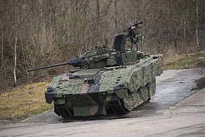 CTA International - British Ajax fighting vehicle