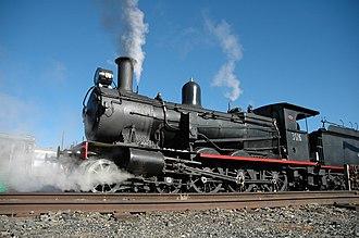 Canberra Railway Museum - Image: ARHS ACT Locomotive 3016 b
