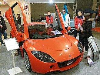Autobacs Seven - ASL Garaiya front, with door open