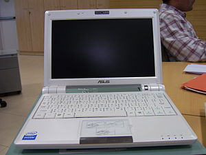Asus Eee PC - White 900 series.