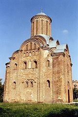 The Pyatnytska Church Friday (c. 1201, restored after World War II).