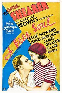 <i>A Free Soul</i> 1931 film
