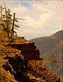 A Sketch of a Crag in the Catskills by Sanford Robinson Gifford.jpg