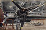 A Wellington Bomber awaiting Camouflage (1942) (Art.IWM ART LD 2605).jpg