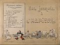 A busy hospital ward with a large list of staff duties, with Wellcome V0015703.jpg