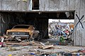 A classic car sits undamaged in a storage building in Moore, Okla., May 23, 2013, after an EF5 tornado struck the area three days earlier 130523-F-QW604-001.jpg