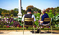 A couple having a rest in Jardin du Luxemburg Paris, 2010.jpg