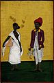 A domestics couple of low caste. Gouache drawing. Wellcome V0045257.jpg