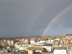 A double rainbow over Bexhill - geograph.org.uk - 629327.jpg