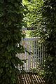 A garden gate Gibberd Garden Essex England.JPG