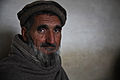 A local Afghan elder participates in a key leaders engagement at an Afghan Uniformed Police compound in the Dur Baba district, Nangarhar province, Afghanistan, Feb 120213-A-LP603-037.jpg