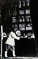 A man inside a shop. Hong Kong. 1869 Wellcome V0037303.jpg