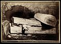 A man with cholera buried prematurely. Photograph after pain Wellcome V0029666.jpg
