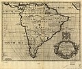 A new map of South America, shewing it's general divisions, chief cities & towns, rivers, mountains etc. LOC 84694439.jpg