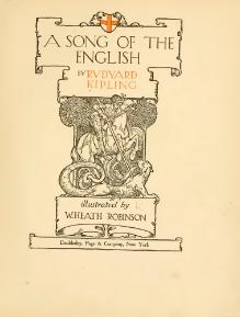 A song of the English (1909).djvu