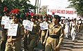 A view of the Anti Drug Rally of 200 NCC Cadets from Indraprastha University to Red Fort, in Delhi on November 19, 2009.jpg