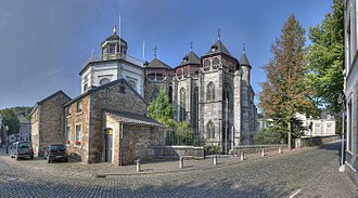 Kornelimünster Abbey - The abbey church