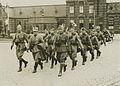 Aankomst van het detachement Regiment Wielrijders (R.W.) uit Den Bosch op het s – F40232 – KNBLO.jpg