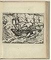 Aanvaring tussen de schepen van Barentsz en Van Linschoten, 1595, NG-1979-564-7.jpg