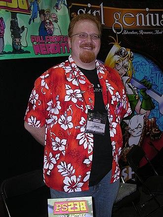 Nodwick - Aaron Williams, creator of Nodwick, at Gen Con Indy 2007.