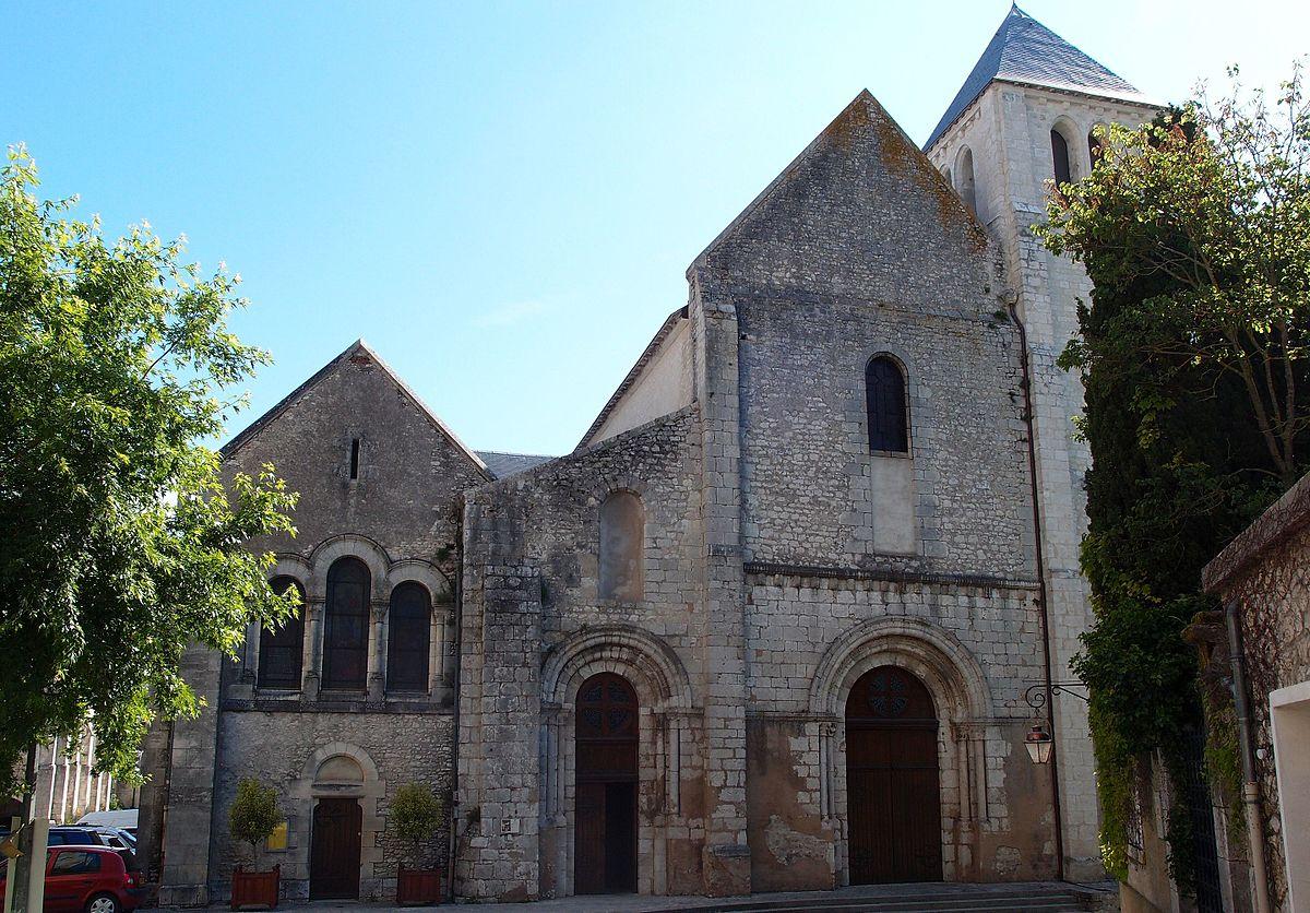abbaye notre dame de beaugency wikipedia