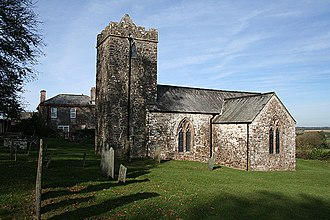 Abbots Bickington - Image: Abbots Bickington St James church geograph.org.uk 590982