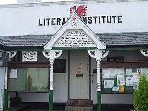 John Corbett (industrialist) - John Corbett is remembered with an inscription on the front of the Literary Institute in Aberdyfi, Gwynedd