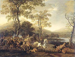 bataille de cavalerie