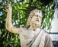Abrigo Dom Pedro II Salvador Bahia Statue 2019-0513.jpg