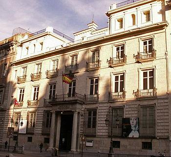 Español: Academia de Bellas Artes de San Ferna...