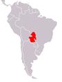 Acanthochelys macrocephala map.png