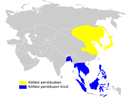Acrocephalus orientalis distribution map.png