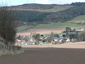 Abernethy, Perth and Kinross - Image: Across fields to Abernethy geograph.org.uk 157440