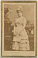 Ada Richmond, from the Actresses and Celebrities series (N60, Type 2) promoting Little Beauties Cigarettes for Allen & Ginter brand tobacco products MET DP839497.jpg