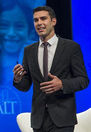 Adam Braun - Image: Adam Braun at SALT Conference 2013