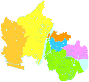 Ma'anshan - Image: Administrative Division Ma'anshan