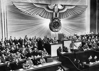 30 January 1939 Reichstag speech Speech by Adolf Hitler