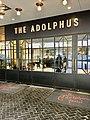 Adolphus Hotel Entrance. Dallas, TX.jpg